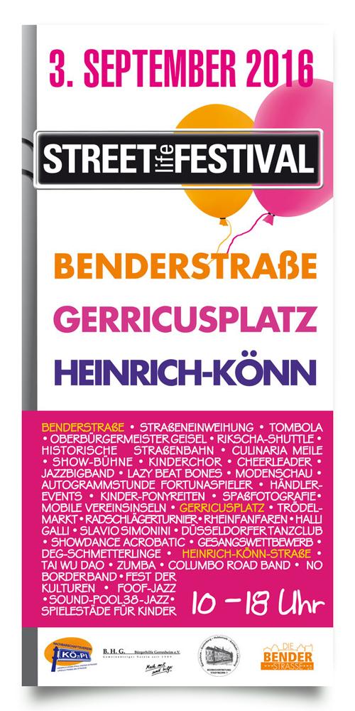 Straßenfest Gerresheim